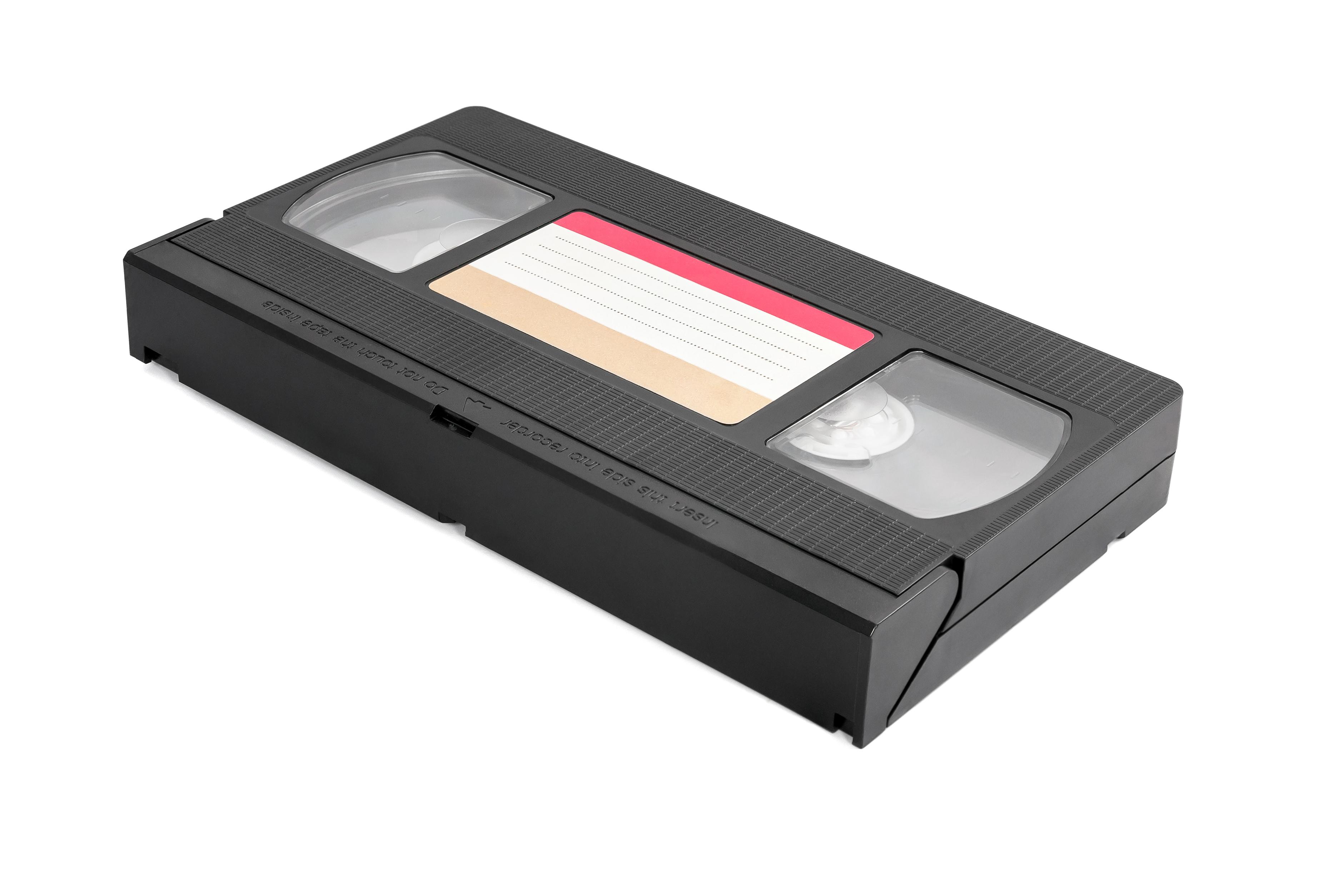 vhs-cassette-on-white-background-PYF5R2B